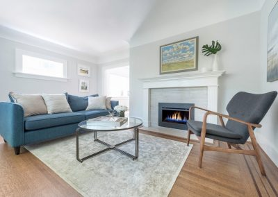 Stylehaven Interior Design - Vancouver Character Addition & Renovation - Living Room